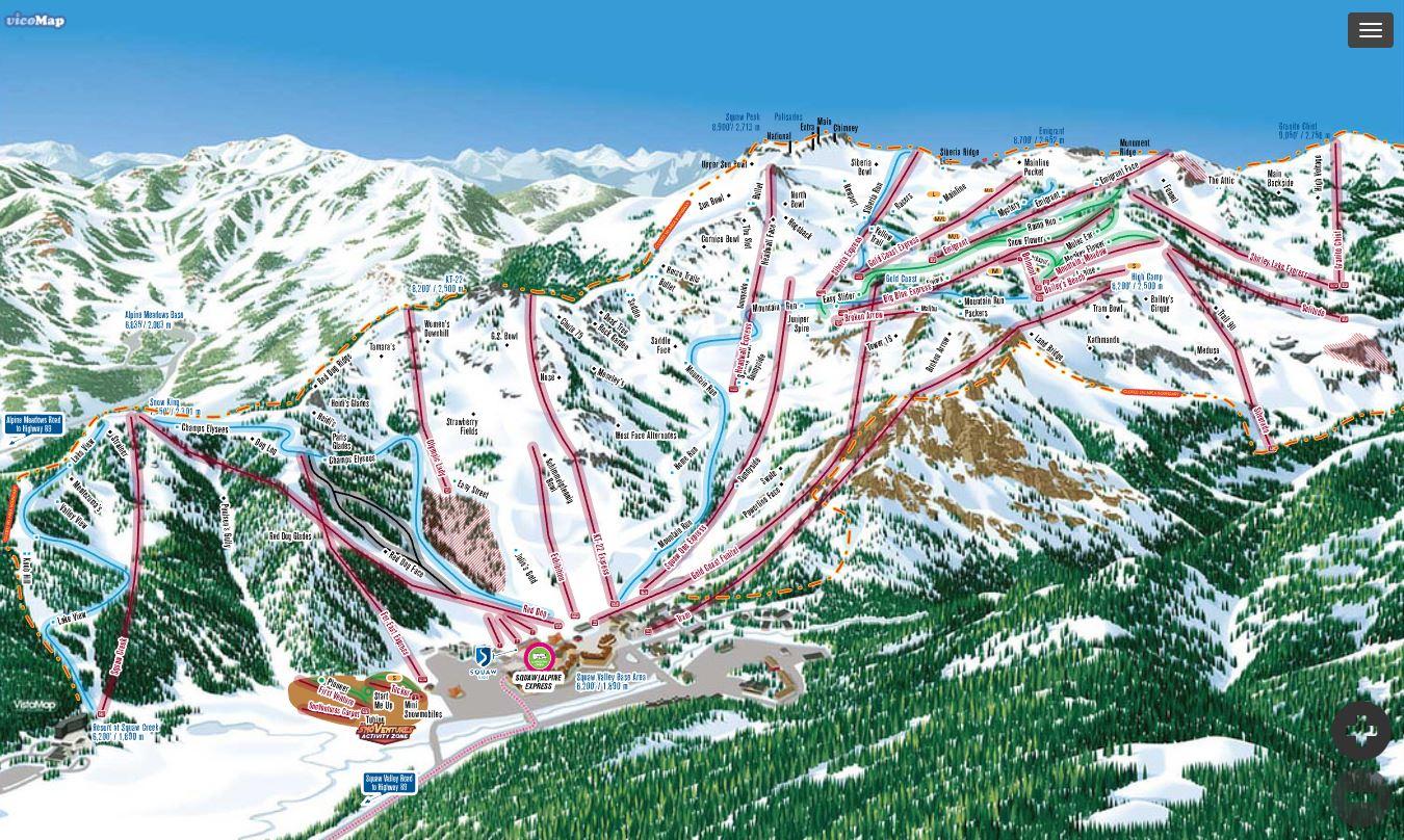 squaw valley / alpine meadows | ski lake tahoe